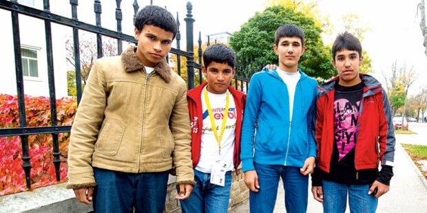 Asylkinder: Am Montag Schul-Start
