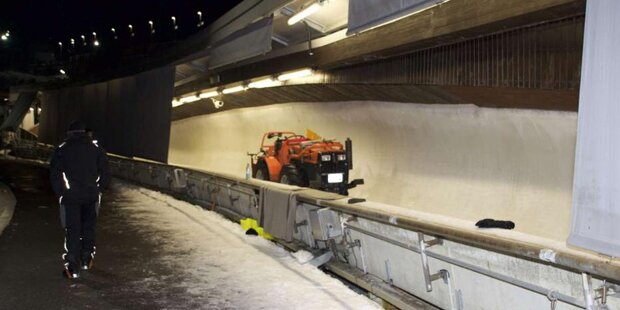 Toter bei Rodelparty im Eiskanal
