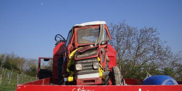 24-Jähriger starb bei Absturz mit Traktor