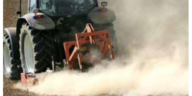 Niederösterreicher vom Traktor erdrückt