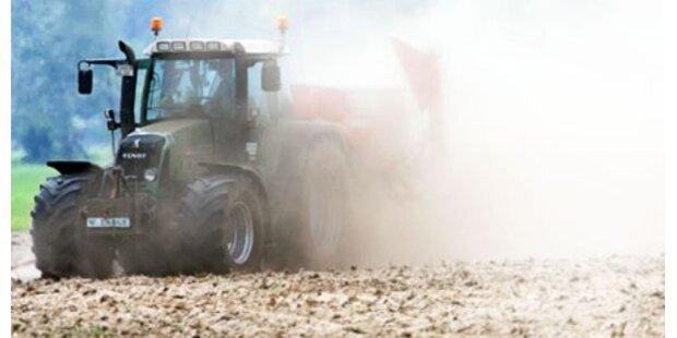 Ehefrau mit Traktor überrollt