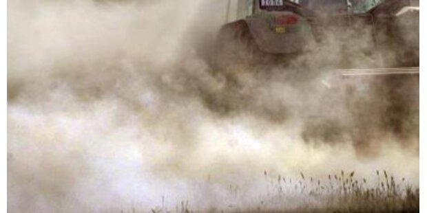Traktor erdrückt Pensionisten in NÖ