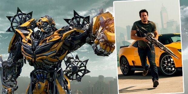 Transformers 4: Action mit Dinobots