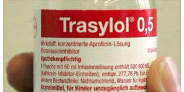 Bayer nimmt Trasylol vom Markt