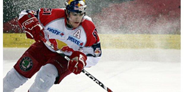 Eishockeymeister Red Bull gewinnt Platzierungsrunde