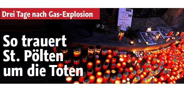 Hunderte trauerten um die fünf Gas-Opfer