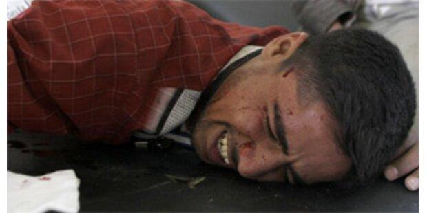 23 Tote bei Anschlag auf Versöhnungstreffen