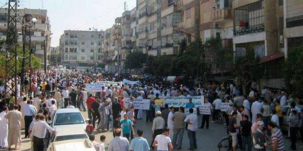Syrien: Trauerzug beschossen