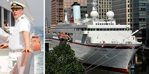 Traumschiff-Kapitän von Bord gejagt