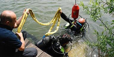 Tresor in Fischteich gefunden