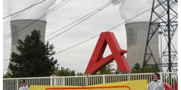Uran aus französischer Atomanlage ausgetreten