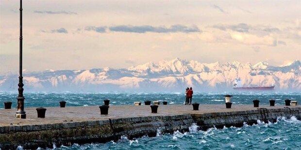 Europa versinkt im Schnee- und Kältechaos