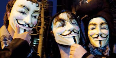 Guy Fawkes Maske / Anonymous