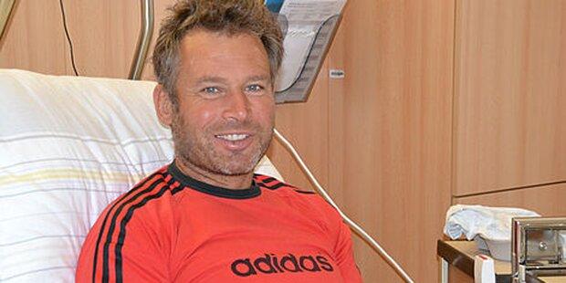 Ex-Abfahrtsweltmeister bei Forstunfall schwer verletzt