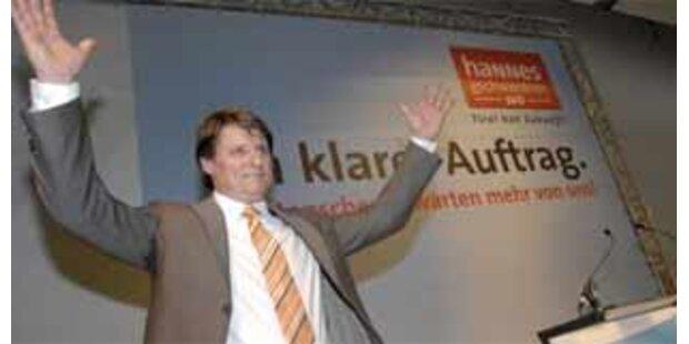 Tiroler SPÖ berät Besetzung der Landesregierung