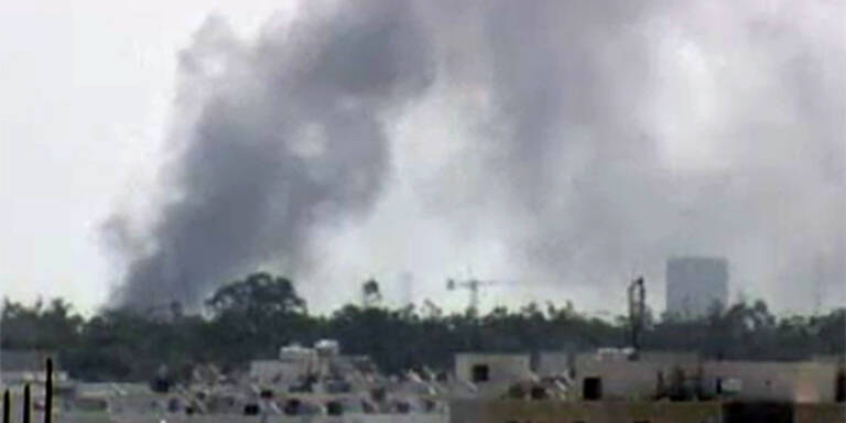 Tripolis: Rebellen stürmen Gaddafi-Festung
