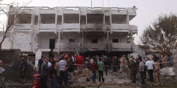 Libyen: Anschlag auf französische Botschaft