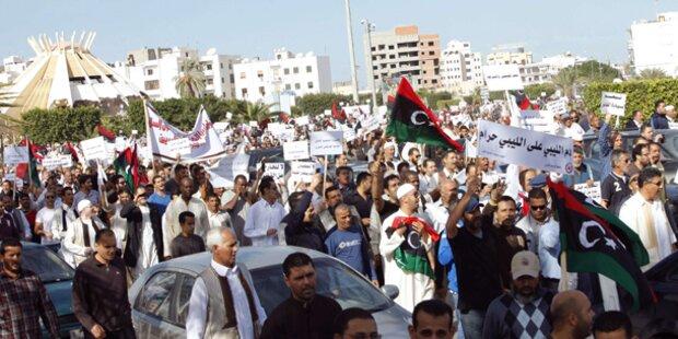 Libyen: Mehr als 30 Tote bei Protesten