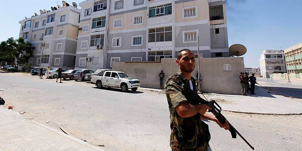 Häuserkampf in Tripolis