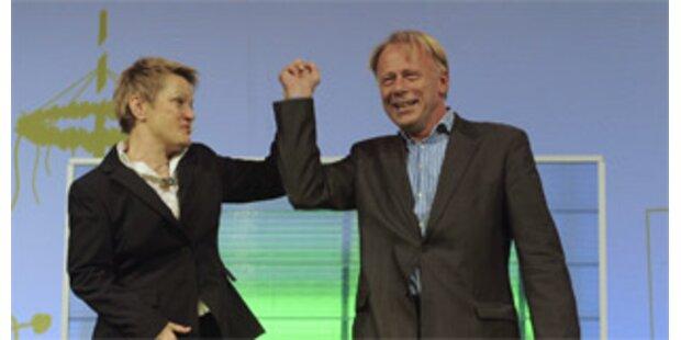 Deutsche Grüne wählten Spitzenkandidaten