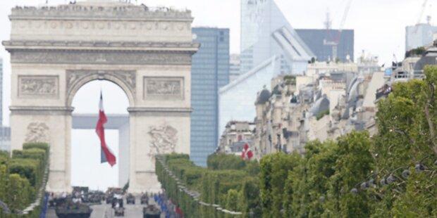 Bombendrohung in Paris