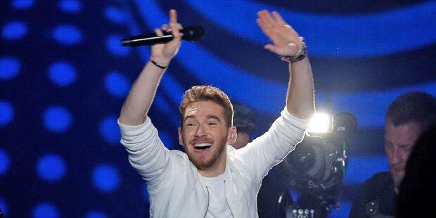 Song Contest: Nathan Trent schafft Platz 16