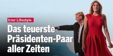 Irrer Lifestyle: Das teuerste Präsidenten-Paar aller Zeiten