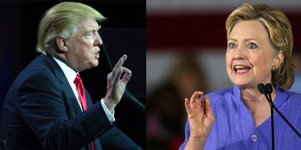 Clinton wirft Trump Antisemitismus vor