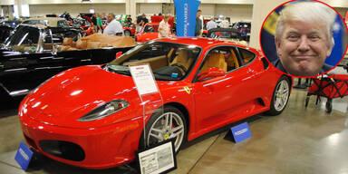 Trumps früherer Ferrari versteigert