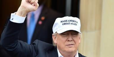 """Trump jubelt: """"Großartige Sache"""""""