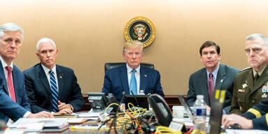 Mega-Wirbel um Trumps Triumph-Foto