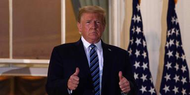 Video zeigt Trumps Atemprobleme