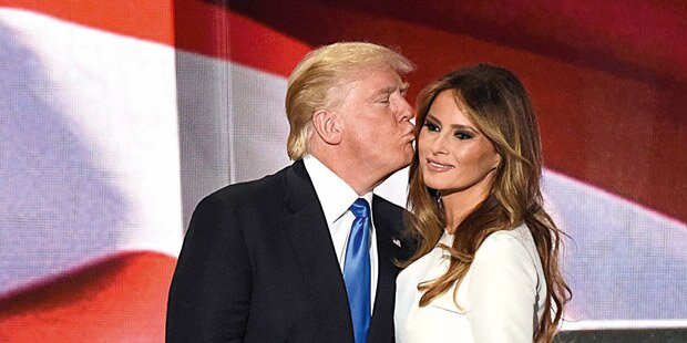 Trumps First Lady ist