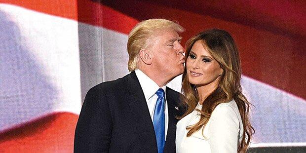 Donald Trump und seine Wienerin