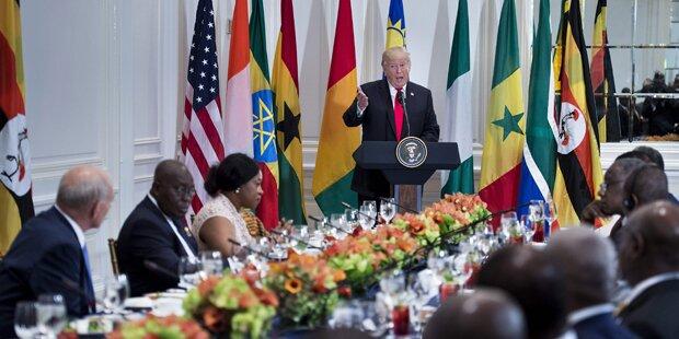 Trump empört mit Afrika-Sager