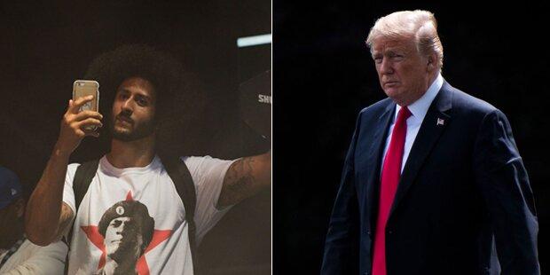 Trump tobt über Kaepernicks Nike-Kampagne