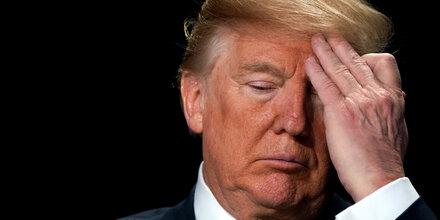 Trump hat schon wieder kein Geld mehr