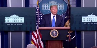 Trump flog trotz positivem Test von Beraterin zu Treffen mit Spendern