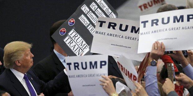 Spannung vor Vorwahl: Trump als Favorit