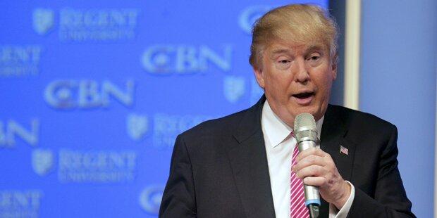 Erster Abgeordneter unterstützt Trump
