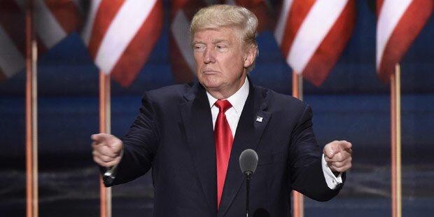Umfrage: Trump deutlich vor Clinton
