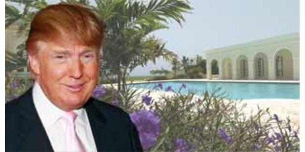 Donald Trump verkaufte Anwesen für 100 Mio. Dollar
