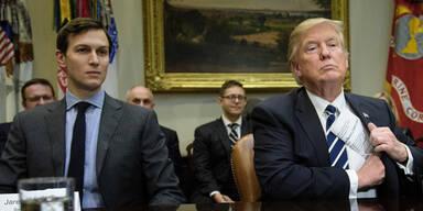 Trump: Heftiger Familien-Streit im Weißen Haus
