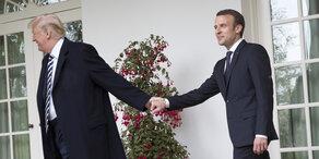 Macron kommt bei Trump nicht weiter