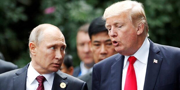 Putin dankt Trump: Anschlag verhindert