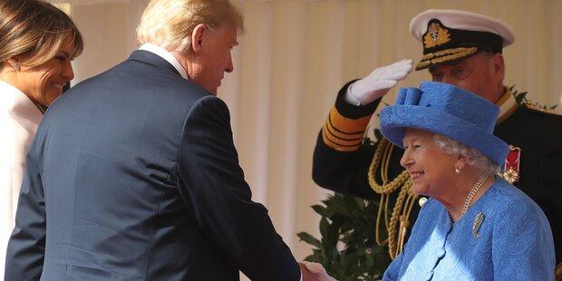 Zeigt dieses Detail, was die Queen wirklich von Trump hält?