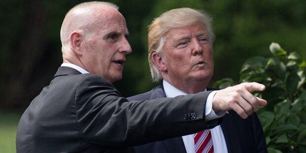 Trumps Leibwächter verlässt das Weiße Haus