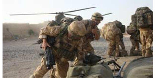 Großbritannien reduziert Truppen im Irak deutlich
