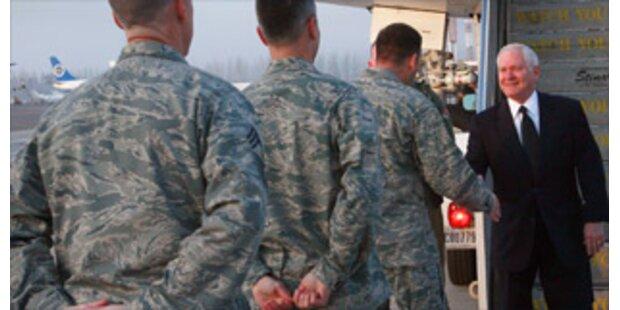USA verstärken Truppen in Afghanistan