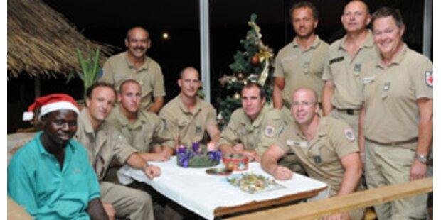 Weihnachten im Tschad für 180 Bundesheer-Soldaten